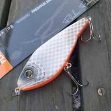 wobbler jerkbait predator silver mört 50 g 12 cm