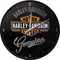 Väggklocka Harley Davidson